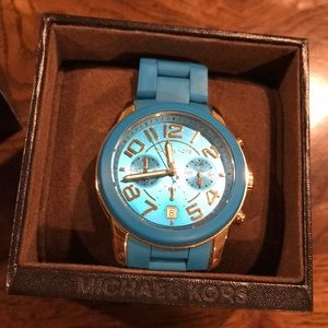 Turquoise Michael Kors watch MK-5891